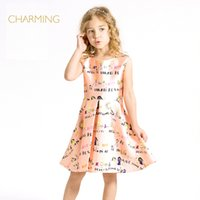 best china patterns - Brand one piece dress pattern Designer children s clothing Quality printed round neck sleeveless dress Best suppliers from china