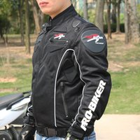 Wholesale Pro biker Motorcycle Racing Jacket Street Road Protector Motocross Body Armour Protection Jacket Clothing Protective Gear JK08