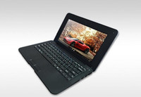 Wholesale DHL or EMS free fast shipping inch screen size laptop netbook Window O S gb ram memroy