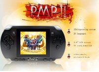 Cheap 1PCS PMP2 Handheld Game Console 32 Bit 3.0 inch LCD Screen MP5 Players Portable Video Game Players IN-built Thousand Free Games