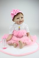 china dolls - 22 inch Realistic and Lifelike Reborn Baby Doll Christmas Baby Doll Perfect for Holidays and Birthday