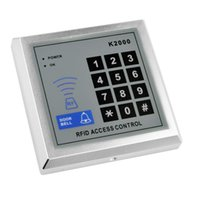 access security systems - Door Access Control Keypad RFID ID Cards Proximity Reader with Key Fobs for Home Offices Security System