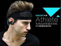 athlete music - 30 Original Dacom Athlete Wireless Bluetooth Earphones In Ear Headphones CSRV4 HD APT X Bass Music Headset With Mic NFC CVC6 High CPU