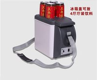 Wholesale Inventory Fast Shipping Electronic cold and hot box vehicle mounted refrigerator portable refrigerator gift refrigerator