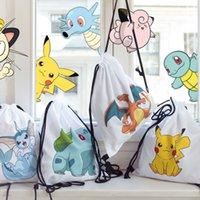 Wholesale Go Unisex Swimming Drawstring Backpack Tote Sack Bag Sport Pack Bookbag