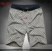 big men pants - 2016 summer men s shorts male leisure beach pants G printed big shorts quick drying loose minutes of pants