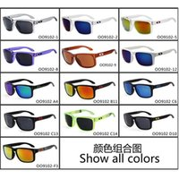 Cheap Brand Sunglasses OKL9102 Summer Sun Glasses for Men Sport Spectacles Cycling Sunglasses optical frame dazzle color mirrors free DHL