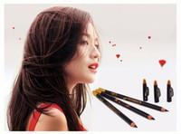 Wholesale Erarose Eye Liner Pencil Eye Lip Liner Cosmetic Pen Black for Ladys Pieces