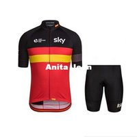 Wholesale 2015 Pro red Black SKY Cycling Jerseys Sets Race Breathable MTB Ciclismo Cycle Bicycle Clothes Wearing Wear Clothing