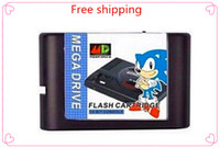 Wholesale Sega MD game card Mega Man The Wily Wars for bit Sega MD game Cartridge Megadrive Genesis system