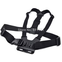Wholesale Gopro Accessories Adjustable Elastic Chest Strap Belt Mount for Gopro Hero Xiaomi Yi Action Camera SJ4000 SJ5000