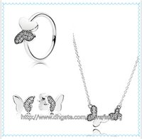 Cheap Earrings & Bracelet sets Best 925 Sterling Silver Charms