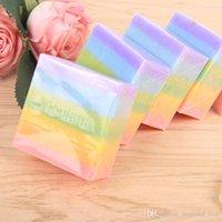 Wholesale DHL OR FEDEX Hot Sale Rainbow Soap OMO White Plus Soap Gluta Whitening Fruits Soap