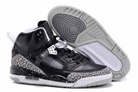 man and women - Drop Shipping retro Spizike Oreo with box for Men Women Basketball Shoe