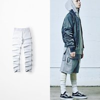Wholesale FEAR OF GOD summer casual trousers High Street leggings big yards RO thread material Qiuku men and women FOG