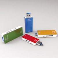 Wholesale USB Flash Drives iphone usb otg usb flash drive memory sticks phone GB GB GB GB USB Pen Drives simply style