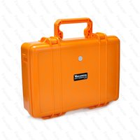 aluminium equipment case - 2016 Wonderful Pelican Case Waterproof Safe Equipment Instrument Box Moistureproof Locking For Multi Tools Camera Laptop VS Ammo Aluminium