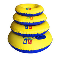 abc classic - ABC thickening feather gram adult inflatable swim ring children s water toys Adult Men Women lifebuoy
