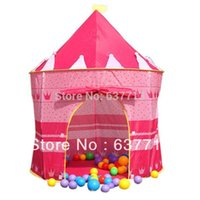 Wholesale Retail Prince and Princess Palace Castle Children Playing Indoor Outdoor Toy Tent