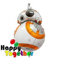 Wholesale Cartoon Mylar Balloons New Huge Size Star Wars Inflatable Printing Globos Balloon Party Supplies Kids Toys Gifts