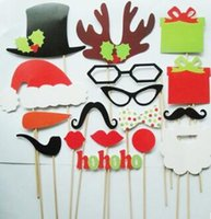 Wholesale 2016 Christmas Selling Products Christmas Party Supplies Props Christmas Party Photograph Paper Beard