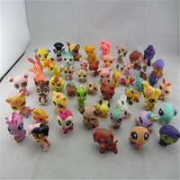 Wholesale New Little Pet Shop original action figures lps toys gift for girls loose little pet shop Genuine cat dog