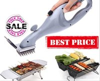 aluminum charcoal grill - Barbecue Cleaning Brush Stainless Steel BBQ Outdoor Grill Daddy Steam Cleaner with the power of steam Cooking Tool Accessories
