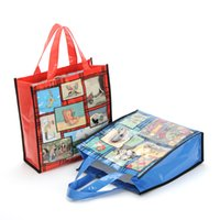 animations shop - European Style Animation Print Shopping Bag in High Quality Oxford Material with Waterproof Coating Durable and Easy Cleaning