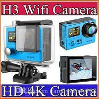 action sports design - New arrival H3 Dual Screen Action Camera G HD K inch Sport travel Camera Same design gopro hero sport dv I XJ