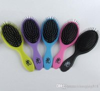 Wholesale 2015 Hair Brush Combs Magic Detangling Handle Tangle Shower Hair Brush Comb message combs Salon Styling Tamer Tool