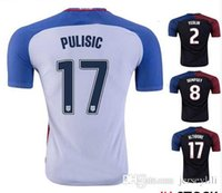 Wholesale DEMPSEY Soccer Jersey Pulisic Copa America Morgan YEDLIN Centenario BECKERMAN Man ZUSI Jerseys size extra small S XXL xl