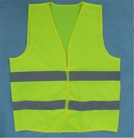 Wholesale New reflective safety vest reflective safety vest coat Sanitation vest Traffic safety warning clothes vest Safety Vest by DHL