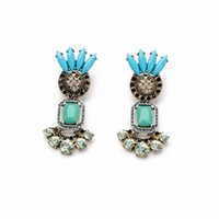ancient art styles - Fine art Fan Er restoring ancient ways drop earring women earring Amercia Style Jewelry for Party
