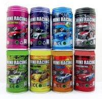 all'ingrosso radio control car-Multicolor coke può mini velocità di RC Radio Remote controlla la micro corsa regalo Toy Car