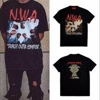 animal graphic tees - Streetwear harajuku swag mens designer clothes Straight Outta Compton NWA fear of god graphic tees men fashion rock t shirts