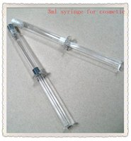 Wholesale 3ml water Guangzhen cosmetic syringe empty container for Hyaluronic acid or Collagen