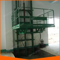 Wholesale Guide rail cargo lift warehouse lift