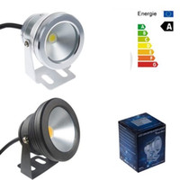 Wholesale 10W underwater LED pool light fountain pond light Spot Lamps V IP68 box