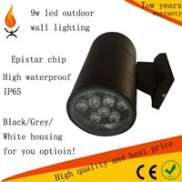 Wholesale up or down w led outdoor wall llighting waterproof IP65 warm natural cool white