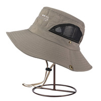 bc hat - Unisex Boonie Fishing Hiking Boating Bucket Outdoor Hat Sun Cap Mesh BC