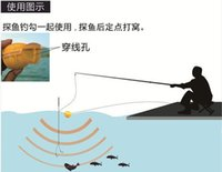 Wholesale New Design Waterpoof Wireless Fish Finder KHz Frequency Bottom Contour M Fish finder Sensor Fishing Camera
