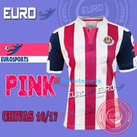 anniversary specials - TOP LIGA MX CHIVAS ANOS ANNIVERSARY Soccer JERSEY EMBROIDERY patch Guadalajara Pink th year A PULIDO special Football shirts