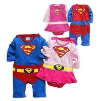 baby goku - Hug Me Baby Boys One Pieces Romper New Superman Goku Batman Spiderman Romper Gentleman Romper MA
