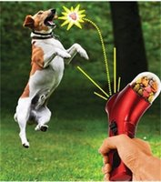 Wholesale Dog Cat Treat Launcher Pet Interactive Fun Snacks Food Giving Training Toy