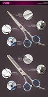 Wholesale Liu Haijian family to play the thin hair scissors scissors scissors scissors scissors scissors combination set