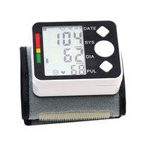 Wholesale New Sale BP628 Wrist LCD Blood Pressure Monitor Meter Sphygmomanometer Cuff NonVoice