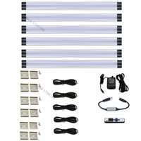 Wholesale 6Pcs Set Wardrobe Light Dimmable LED Under Cabinet Light Panels Standard Kit Lumen VDC All Accessories Included