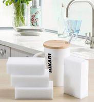 Wholesale High quality white Cleaning Magic Sponge Eraser Melamine Cleaner Multi functional Foam White x60x20mm EMS