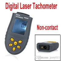 Wholesale Digital Laser Tachometer LCD RPM Test Small Engine Motor Speed Gauge Non contact
