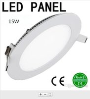 Wholesale Ultra Thin W Round Dimmable LED Ceiling Recessed Light AC85 V LED Panel Light SMD2835 LED Downlight
